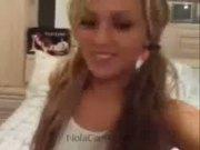 Amateur Teen Entertains A Voyeurs Fetish On Live Webcam