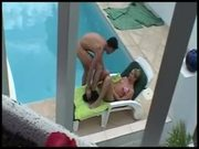 Clara Morgane fucked by the Pool
