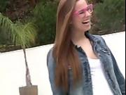Jillian Brookes : young girl, big anal !