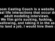 Surprise Nympho Assfuck Casting