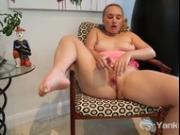 Kinky Kim Fucking A Toy