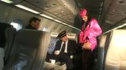 Madison Parker stewardess double blowjob