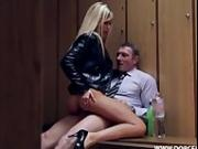 French Soccer-Coach Fucking His Star-Player's Sexy Hot Blonde Wife Lola!