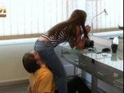 Katja jeanssitting