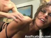 Busty slut gets her tight ass pounded by a well hung cock - Anal sex video - Tube8.com