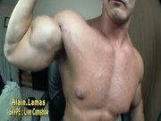 Hot jock muscle cock n cum