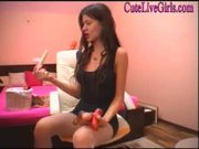 Playful amateur switzerland nice tits plays with pussy and toys on sex cam