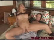 Alluring blonde whore in kinky fucking