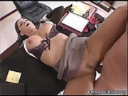 Hot secretary Fucked on Desk