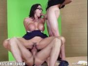 Brazzers - Ariella Ferrera needs two big dicks