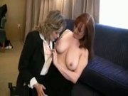 Caught by the mature hotel manager with a hooker