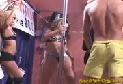 Brazilian party orgy hard fuck and oral gang bangs