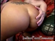 This Indian babes shaved pussy gets banged hard
