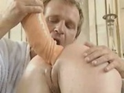 German Doctor Huge Anal Dildo
