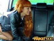 FakeTaxi Sexy redhead takes a pounding from behind