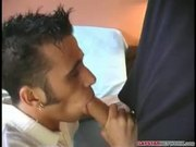 Nathan love to suck a real big cock