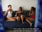 Lesbian Latinas Threesome