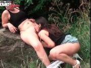 FunMovies Two German lesbian girls docking