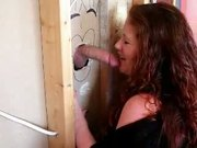Jennifer VanBeavers all lip service gloryhole suck and swallow