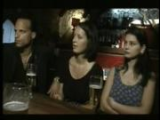 Hot Italian Chicks Fucked in a Bar