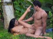 Anal Honeymoon on Hotel Garden Fabiane Thompson