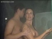 Tiffany Bolton Gets Nailed Against the Shower Glass