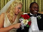 Bridal interracial fuck video