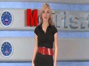 russian Moskow girl TV Natasha Volkova