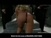 BLONDE BIGTIT PORNSTAR SHYLA STYLEZ TAKES ANAL AFTER BEING OILED