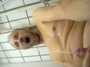 pissin the cum off my face after af blow job