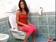 Little Caprice Blue Toilet