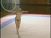 Japanese nude gymnast
