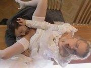 Dora Venter bride