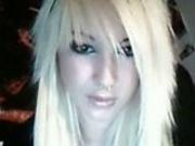 Hot blonde webcam