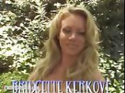 Pornstar Bridgette Kerkove Fucks a Massive Dildo