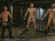 Trent Diesel, Leo Forte and a giant cock Live Shoot