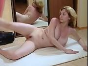 Busty Blonde Russian Teen Worksout and stretchs her perfect body!