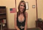 Sexy newcummer Ava White