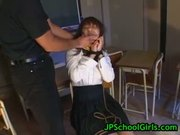 Cute asian schoolgirl fucked hard part4