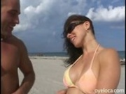 Latina with tight body swallows cock before hard fuck session