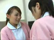 Asian Nurses Making Out