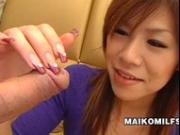 Sex Starved Japanese milf Yasuko Miyawaki