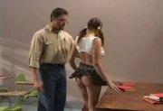 Schoolgirl Gia Paloma gets punished