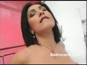 hot brunette gets fuck with pink lingerie 1
