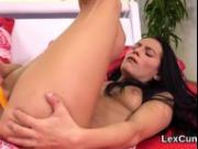 Fantastic czech beauty lexi dona pleasures and cums