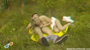Couple in a meadow