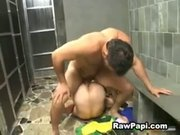 Hot Latino Male on Male Ass Bareback Fucking