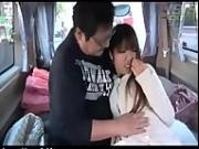 Compensated dating girl in the car in Japan