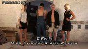 CFNM forced to cum
