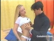 first time showing pussy blonde gets fuck 1